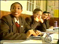 Pupils at St Martin-in-the-Fields High School for Girls