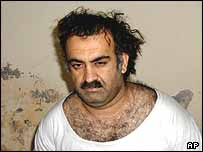 Khalid Sheikh Mohammed after his arrest