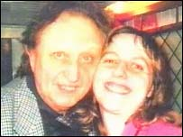 Stalker Ruth Tagg pictured with Ken Dodd