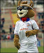 Wakefield mascot Daddy Cool