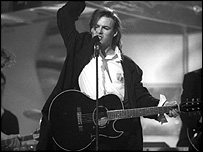 Mark Shaw on Top of the Pops in 1989