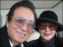 Film director Shin Sang-ok and his wife, Choe Eun-hui