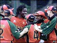 Zimbabwe qualified through the back door