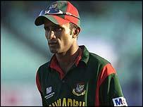 Former Bangladesh captain Khaled Mashud