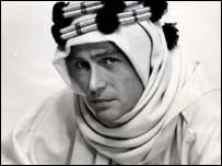 O'Toole in Lawrence of Arabia