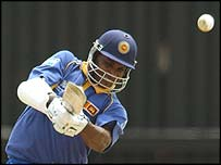 Sri Lanka captain Sanath Jayasuriya