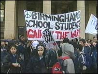Birmingham demonstration