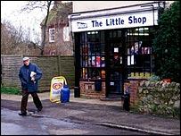 A corner shop
