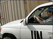 UN car in Baghdad