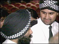 Sikh policemen in UK