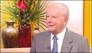 Author Wilbur Smith live on BBC Breakfast
