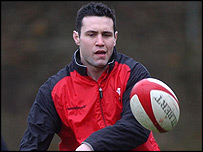 Wales fly-half Stephen Jones