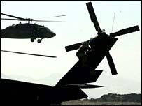 US air base at Bagram