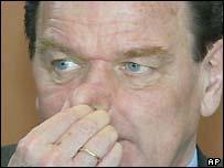 Chancellor Gerhard Schroeder
