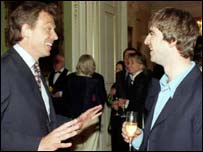 Blair with Oasis
