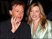 Sir Paul and Heather McCartney