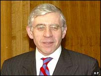 Jack Straw at UN in New York