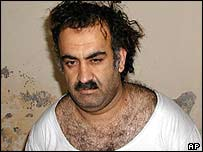 Sheikh Mohammed seen after his capture
