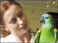 Albert the parrot