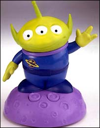 The Alien toy from the Toy Story II