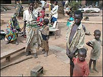 Refugees in Ituri (archive pic)