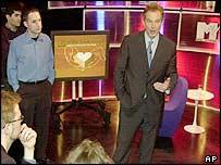 Tony Blair at the MTV forum