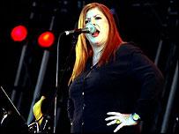 Singer Kirsty MacColl