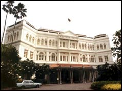 The Raffles Hotel, Singapore, named after Sir Stamford Raffles