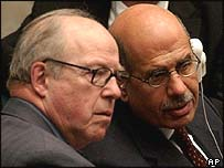 Blix and ElBaradei