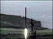 Previous North Korea missile launch