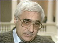 Former Bulgarian Prime Minister Andrei Lukanov