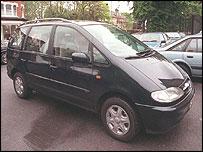 The Blair family car