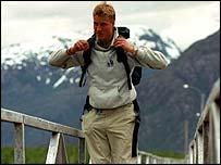 Prince William in Chile