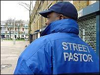 Pastor Les Isaac at work