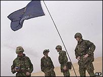 British soldiers in Kuwait