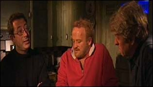 Ben Elton, Antony Worrall Thompson and Steve Bradshaw