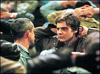 Scene of film where Alex is arrested