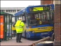 Crawley bus crash
