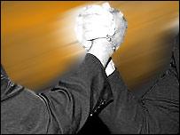 Arm wrestling image