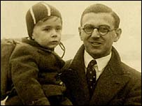 Nicholas Winton with child