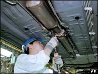 General Motors production line in Shanghai