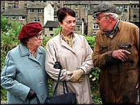 Dame Thora Hird (left) as Edie in Last of the Summer Wine