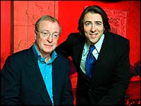 Sir Michael Caine and Jonathan Ross