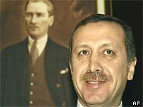 Turkish Prime Minister Recep Tayip Erdogan