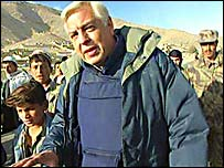 The BBC's John Simpson in Afghanistan