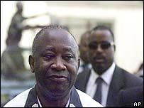 Ivorian President Laurent Gbagbo