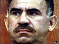 Abdullah Ocalan, during his 1999 trial