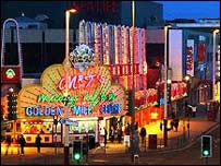 Blackpool's Golden Mile