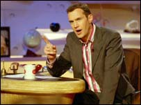 BBC Three host Johnny Vaughan
