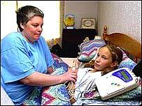 Debbie Williams with daughter, Rachel